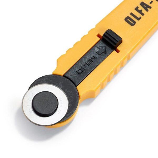 Taglierina rotante 18 mm dettaglio lama - Olfa Prym