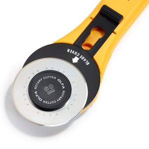 Taglierina rotante 60 mm dettaglio lama - Olfa Prym