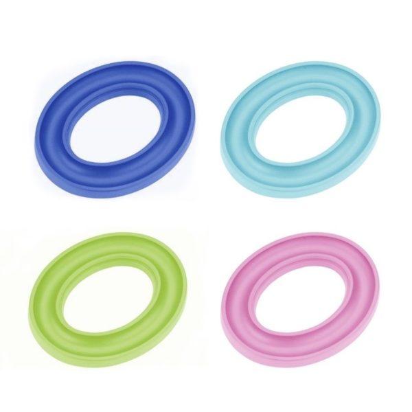 Anello porta spoline in silicone colorati