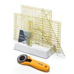 Base in plastica per riporre i regoli - Ruler organizer - Prym