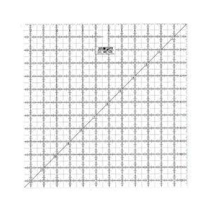 Regolo quadrato 12,5x12,5 inch - Olfa Frosted Advantage