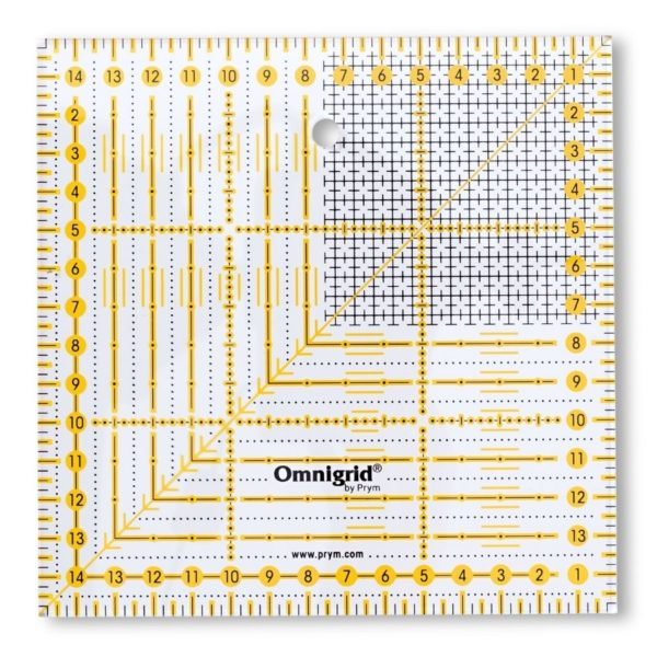 Regolo quadrato 15x15 cm - Omnigrid Prym