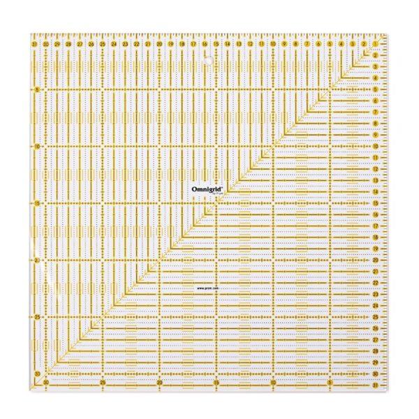 Regolo quadrato 31,5x31,5 cm - Omnigrid Prym