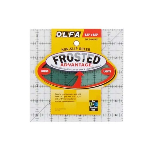 Regolo quadrato 6,5x6,5 inch - Olfa Frosted Advantage