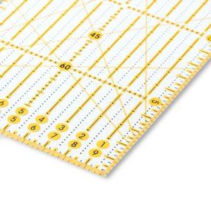 Regolo rettangolare 10x45 cm dettaglio - Omnigrid Prym