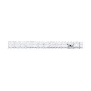 Regolo rettangolare 1x12 inch righello - Olfa Frosted Advantage