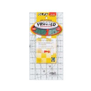 Regolo rettangolare 6x12 inch confezione - Olfa Frosted Advantage
