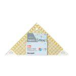Regolo triangolo svelto per tagliare ½ di quadrato fino a 15cm confezione - Omnigrid Prym