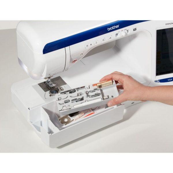 Innov-is VQ4 - Macchina per cucire Brother cassetto accessori - Filomania