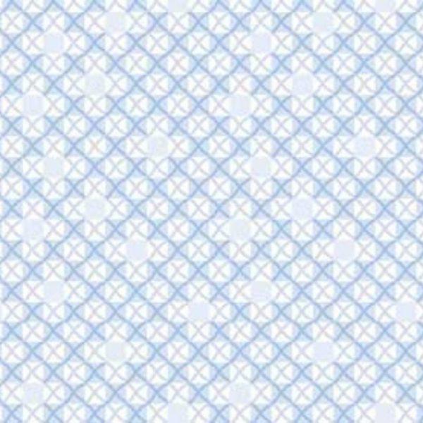 Tessuto in cotone americano - fantasia - azzurro - geometrico - Filomania