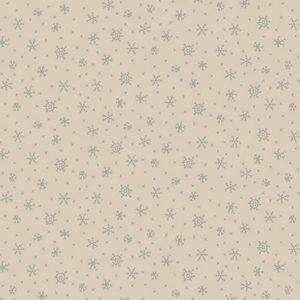 Tessuto in cotone americano - fantasia - fiocco - di - neve - ghiaccio - grigio - Anni - Downs Filomania