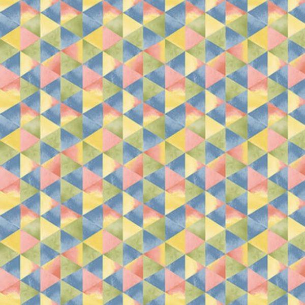 Tessuto in cotone americano - fantasia - geometrica - Filomania