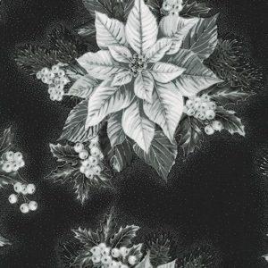 Tessuto in cotone americano - fantasia - natale - stella - Filomania