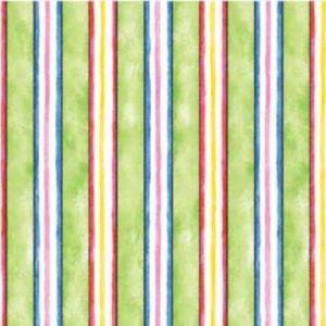 Tessuto in cotone americano - riga - colorata - Filomania