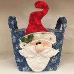Cestino di Natale 2020 - Babbo Natale - kit - box creativa - Filomania