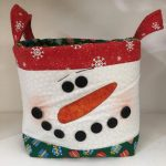 Cestino di Natale 2020 - pupazzo di neve - kit - box creativa - Filomania