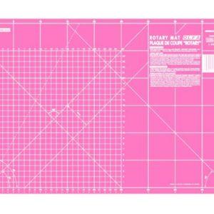 Piano da taglio 30x45 cm - Olfa - Base di taglio - fucsia - lato centimetri - Filomania