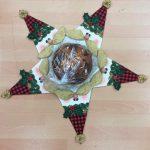 Porta panettone Babbo Natale 2020 con panettone - kit - box creativa - Filomania