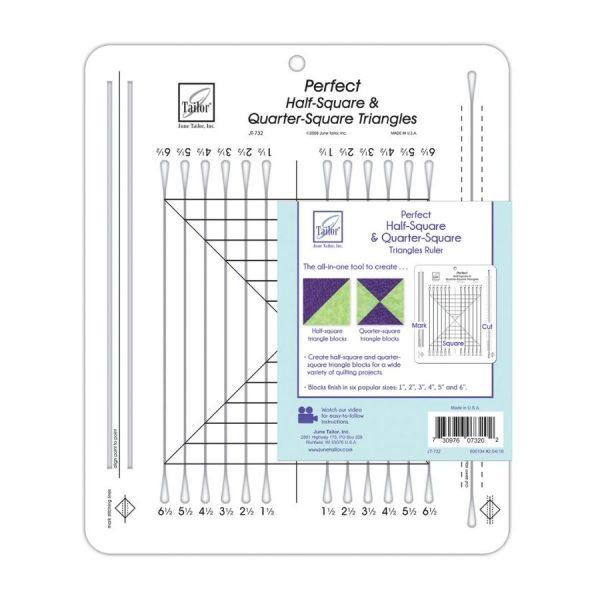 Squadra Perfect Half-Square & Quarter-Square Triangles - June Tailor - Filomania