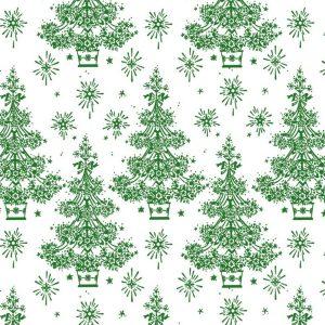 Tessuto in cotone americano - alberi - natale - Filomania