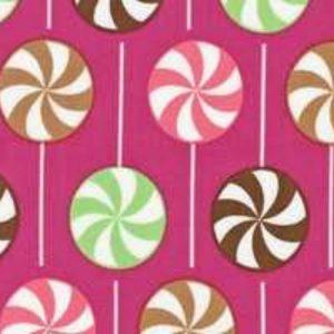 Tessuto in cotone americano - chupa chups - lollipop - Filomania