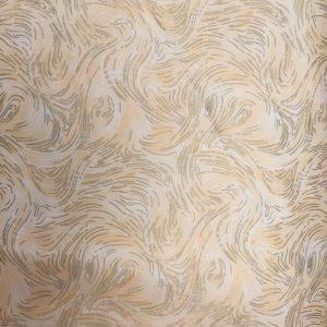 Tessuto in cotone americano - fantasia - geometrico - oro - Filomania