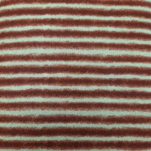 Tessuto in cotone americano - fantasia - riga - bordeaux - Filomania