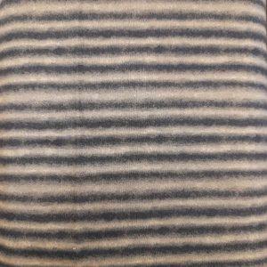 Tessuto in cotone americano - fantasia - riga - verde - Filomania