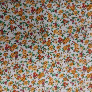 Tessuto in cotone americano - fiori - liberty - Filomania