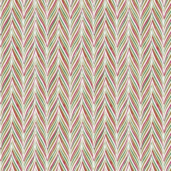 Tessuto in cotone americano - natale - geometrico - Filomania