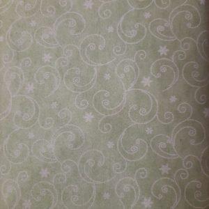 Tessuto in cotone flanellato americano - fantasia - finto trapunto - Filomania