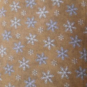 Tessuto in cotone flanellato americano - fantasia - stella di ghiaccio - Filomania