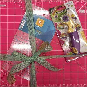 Kit attrezzature - patchwork - rosa - Filomania