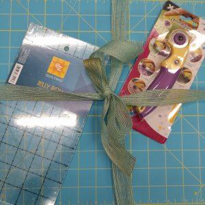 Kit attrezzature - patchwork - turchese - Filomania