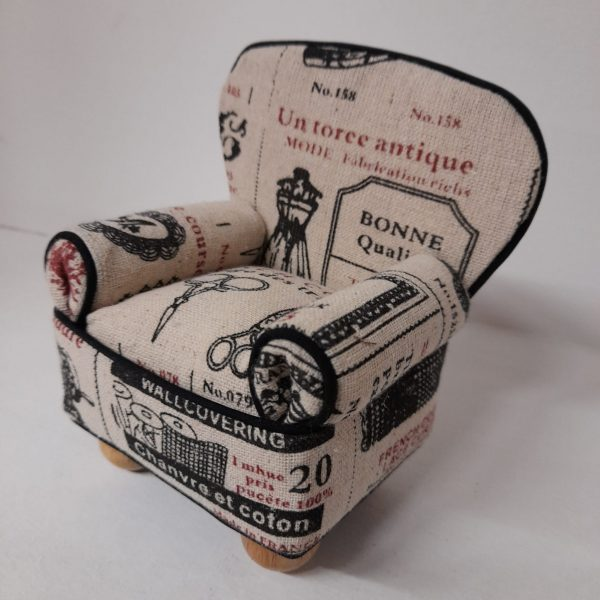 Poltrona - Puntaspilli - cucito creativo - vintage - Filomania