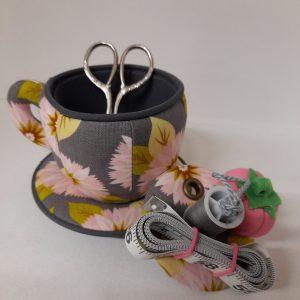 Tazzina - Necessaire - cucito creativo - dettaglio - Filomania