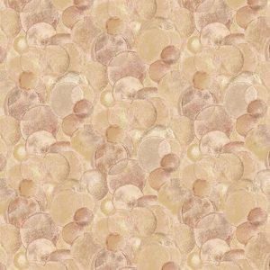 Tessuto in cotone americano - bolle - rosa antico - Filomania