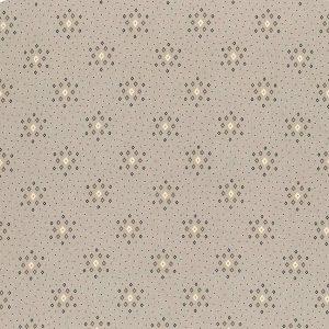 Tessuto americano - Kim Diehl - rombi - grigio - Filomania