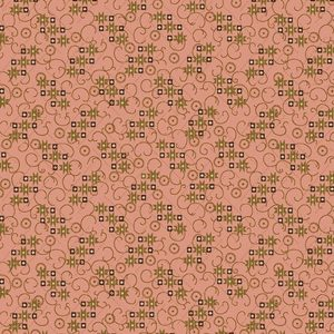 Tessuto cotone - Kim Diehl - stelle a cascata - rosa - Filomania