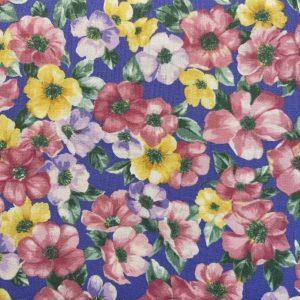Tessuto in cotone - fiori - ranuncolo - Filomania