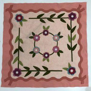 Box Creativa - centrotavola in fiore - pannolana - filomania