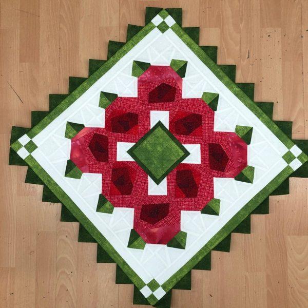 Box Creativa - centrotavola - una rosa per te - Filomania