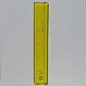 Regolo per paper piecing - 1a4 - Filomania