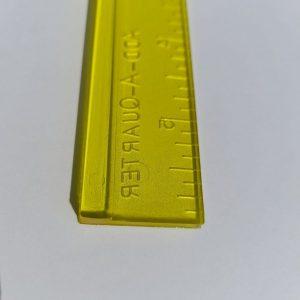 Regolo per paper piecing - 1a4 - dettaglio - Filomania