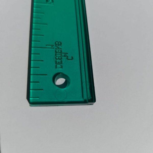 Regolo per paper piecing - 1a8 - dettaglio - Filomania