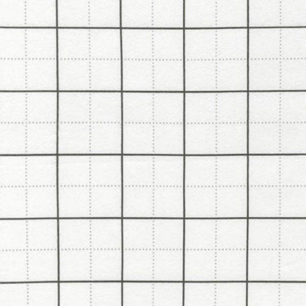 Tessuto in cotone americano - framework - bianco - Filomania