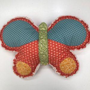 Box Creativa - cuscino - farfalla - rug - Filomania