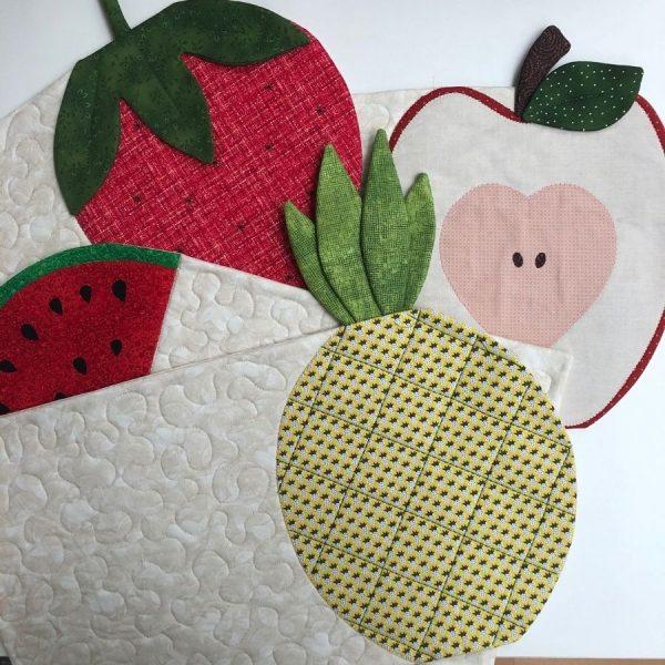 Box Creativa - tovagliette fruttose - Filomania