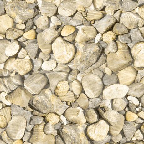 Tessuto Cotone - sassi - beige - Filomania