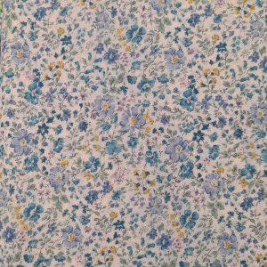 Tessuto americano - cotone - cambridge - liberty - azzurro - Filomania